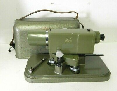 Vintage Wild Heerbrugg Leica Na2 Surveying Level Equipment Precise Level 2