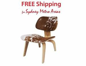 SALE - Eames LCW Style Lounge Chair - Cowhide Zetland Inner Sydney Preview
