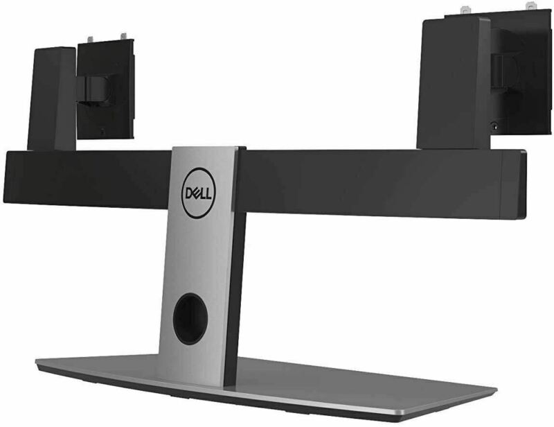 """NEW Dell MDS19 Dual Monitor Stand Fits up to 27"""" Monitors"""
