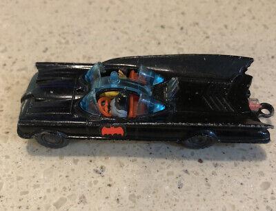 1960s Husky Diecast Batmobile with Batman & Robin