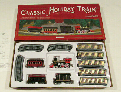Old Sturgis Steamer Classic Holiday Train 46 Inch Track Under Christmas Tree Set