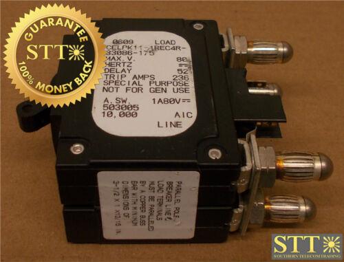 Celpk11-1rec4r-33086-175 Airpax 175 Amp Parallel Pole Circuit Breaker