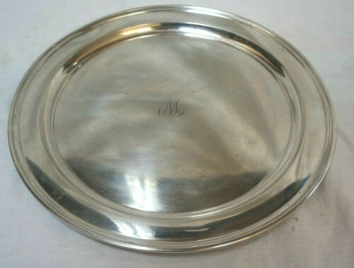 "Tiffany & Co Sterling Silver Plate 12"" 20219"