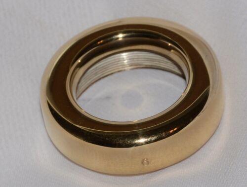 GIARDINELLI 6 Trombone rim GOLD PLATE NEW OLD STOCK
