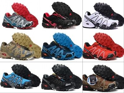 2018 Men Camping Sport Speedcross 3 Athletic Running Outdoor Hiking Shoes (Camp Sport Shoe)