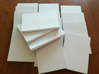 32 Pads A7 Plain White Paper Mini Jotter Note Pad Memo Takeaway Restaurant