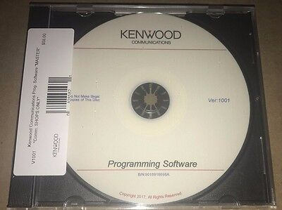 Kenwood Comm Kpg Radio Programming Software Master Cd Perfect For Radio Shops