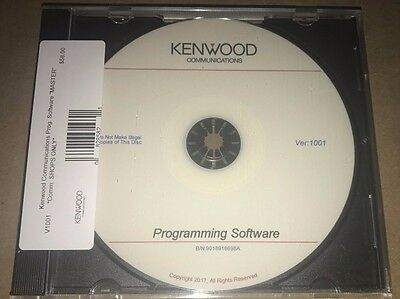 Kenwood Communications Radio Shop Programming Master CD KPG TK Radios NEW!!