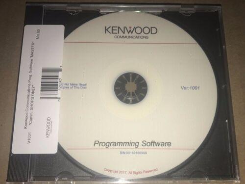 Kenwood Comm KPG Radio Programming Software Master CD Perfect For Radio Shops!