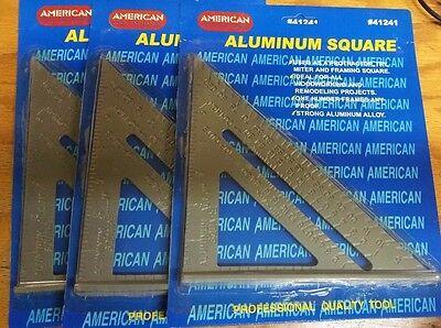 """3 pcs Aluminum Square 7"""""""