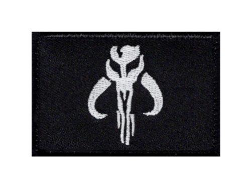 Mandalorian Skull Hook Fastener Patch (3.0 X 2.0 BOP-1)