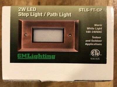 Step / Path / Deck Lighting COPPER Light 2W LED 3000K Indoor Outdoor