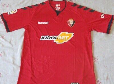 Shirt Camiseta Trikot Maillot OSASUNA Season 2019 Size L Pamplona new LFP