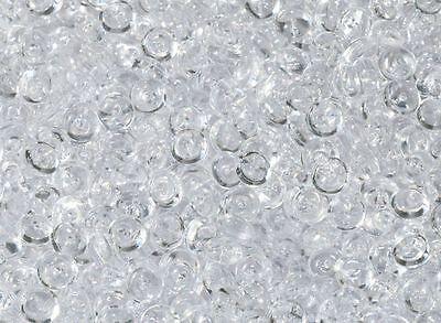 1500 Stk Tautropfen klar Tischdeko Hochzeit Raindrops Deko Diamanten Streuteile