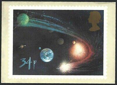 Great Britain 1986 Halley's Comet Stamp PHQ Card unused