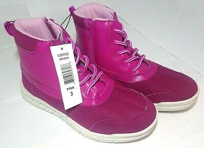 Khombu Kids Size 3 Pink Boots