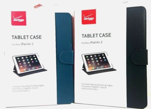 Verizon Durable Protection Tablet Leather Folio Stand Case F