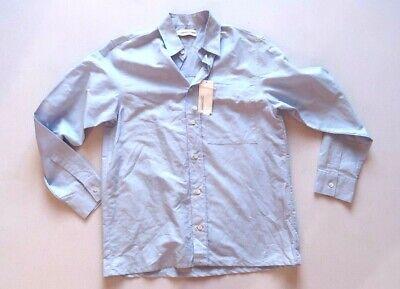 Gosha Rubchinskiy Blue Paisley Print Shirt *NWT* - SMALL