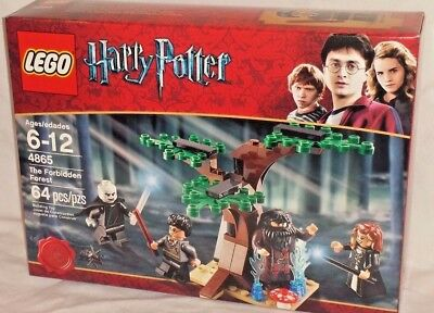 SEALED 4865 LEGO Harry Potter FORBIDDEN FOREST battle Voldemort Hagrid 64 pc set, usado comprar usado  Enviando para Brazil
