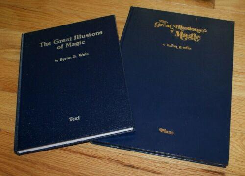 Great Illusions of Magic 2-volumes (Wels, 2015 4th printing)  -- TMGS Book-MANIA