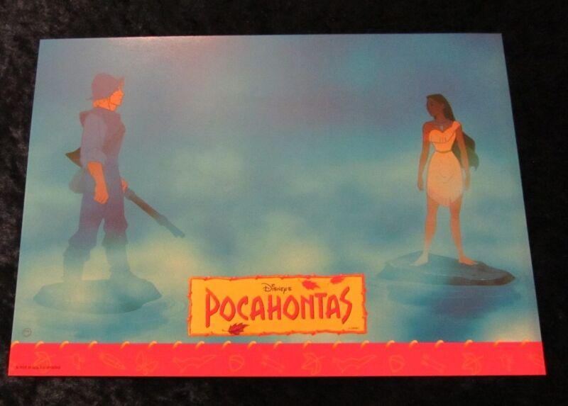 Pocahontas  lobby card  # 12 - Walt Disney
