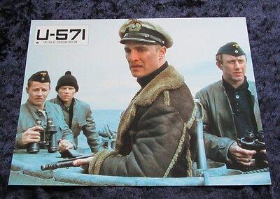 U-571 lobby cards Matthew McConaughey, Bill Paxton, Harvey Keitel