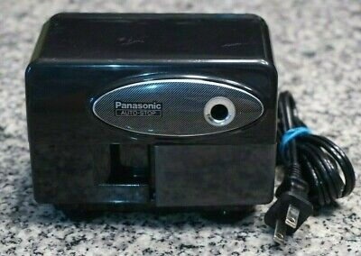 Vtg Panasonic Kp-310 Electric Pencil Sharpener Auto Stop Suction Cup Tested Frsh