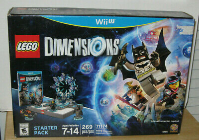 Lego Dimensions Wii U Starter Pack Set #71174 NIP VHTF Retired 269 pcs