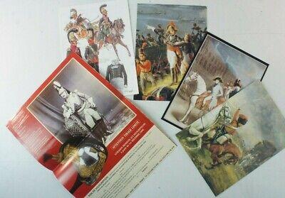 5 Faltblätter Zinnfiguren Uniformen Literatur B15987 ()