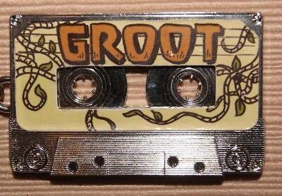 Disney Marvel Guardians of Galaxy Rocket Raccoon & Groot Cassette Key Chain