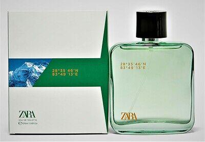 ZARA 28°35′46″N 83°49′13″E (Annapurna) EDT 100ml/3.4oz. Discontinued, SEALED.