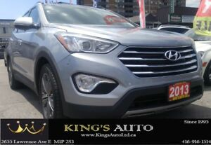 2013 Hyundai Santa Fe LTD w/Saddle Int & Unvented Seat