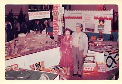 Gladys Trains Model Train Sets Lionel Trains Christmas 1963 Kodak Vintage Photo