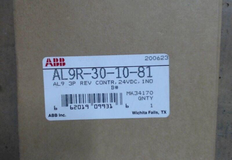 Nib Abb Al9 3p Rev Controller Al9r-30-10-81 24vdc 1no - 60 Day Warranty