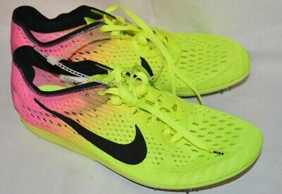 sports shoes b7b5d 37b50 Nike Zoom Matumbo Distance Track Spikes Neon Green Volt Men s US Size 6.5