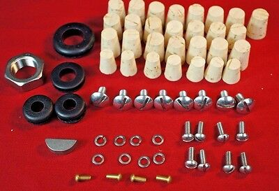 Ih Farmall Cub Paint Restoration Hardware Upgrade Kit Grommet Cork Hood Grill