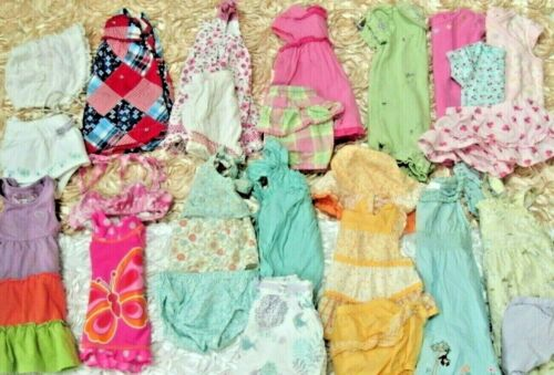 Baby Girl Clothes Outfits Lot Size 3-6 M Janie Gymboree Dresses Spring Sets Hats