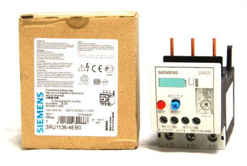 Siemens Sirius 3RU1136-4EB0 Overload Relay 22-32A S2 1 NO 1 NC 3RU1136 NEW NIB