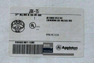 Appleton Jbx-75 Conduit Outlet Box