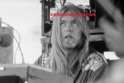 Original 35mm Negative Gregg Allman 1970s VINTAGE # 11