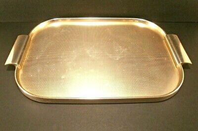Kaymet Anodized Metal Ware Serving Tray Mid Century England