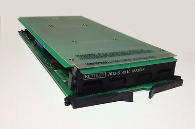 Keithley 7012 S 4X10 Matrix Card With Terminal Board