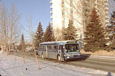 Calgary Transit GM New Look Bus Fujichrome original Slide