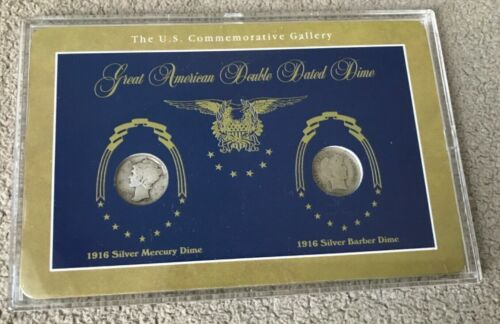American Silver Double Dated Dimes - T