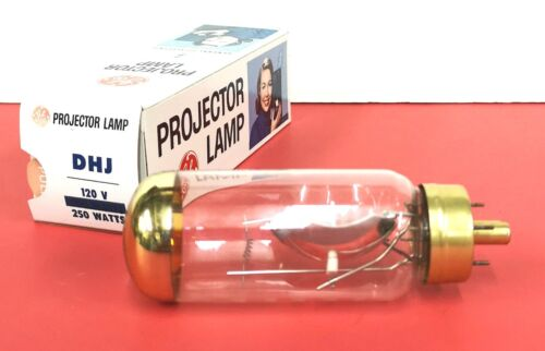 DHJ 250W 120V Photo Projection LIGHT BULB Studio LAMP Projector NOS New WOW!
