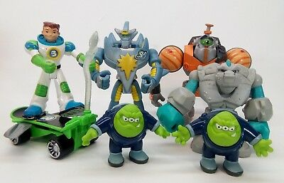Fisher Price Planet Heroes Earth Ace Jupiter Gustus Tiny Asteroid Comet Proton