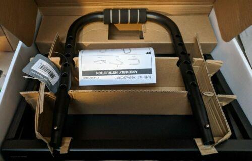 Mind Reader FTHEIGHT-BLK Ergonomic Foot Rest, Height Adjustable Non-Slip