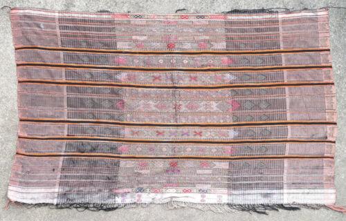 Pre-1900 textile weave antique oriental tribal Berber Moroccan Tunisian