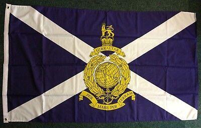 Royal Marines Scotland Reserve Flag War British Navy Elite Scottish Scots 5x3 bn