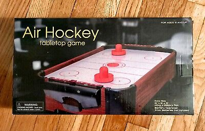 Mini Tabletop Table Top Air Hockey Game By Westminster   NEW!! / Item #2502